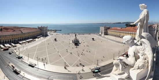 View from the Triumphal Arch Viewpoint